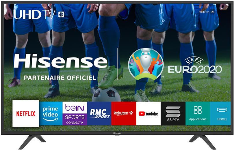 """TV 50"""" Hisense H50B7100 - Ultra HD 4K, Dalle VA, LED (+17,45€ offerts en SuperPoints - Vendeur Boulanger)"""