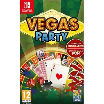 Jeu Vegas Party sur Nintendo Switch