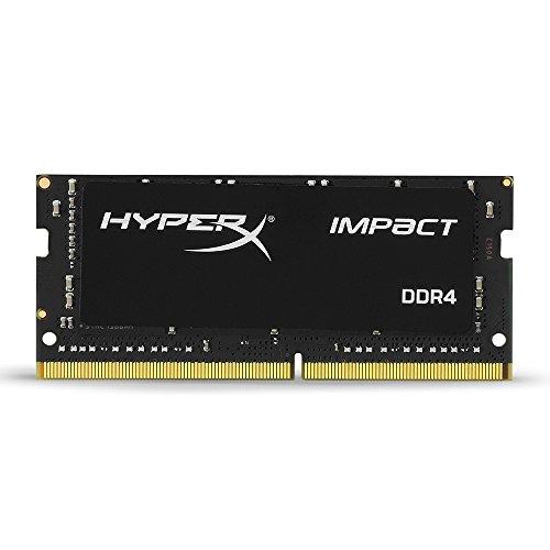 Barrette mémoire RAM HyperX Impact 8Go - DDR4, 2666 MHz, CL15, SODIMM