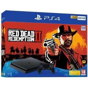 [CDAV] Console Sony PS4 Slim - 500Go + Red Dead Redemption 2