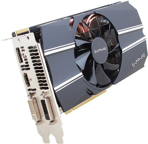 Carte graphique Sapphire AMD R7 260X 2 Go PCI-E Lite