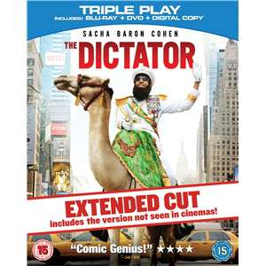 The Dictator: The Extended Cut (Combo DVD + Blu-ray + Copie digitale)