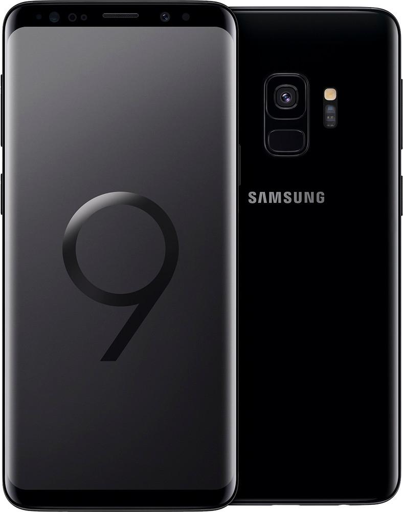 """Smartphone 5.8"""" Samsung Galaxy S9 - WQHD+, Exynos 9810, 4 Go de RAM, 64 Go, noir (vendeur tiers)"""