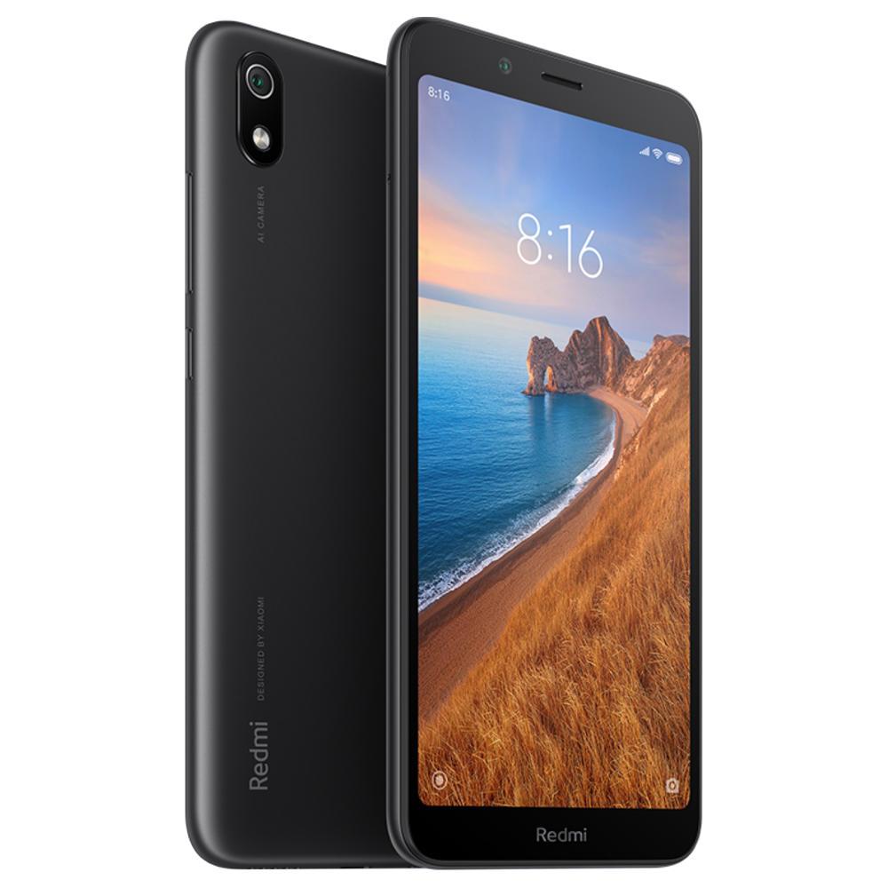 "Smartphone 5.45"" Xiaomi Redmi 7A - HD+, SnapDragon 439, 2 Go de RAM, 32 Go, 4G (B20), noir"