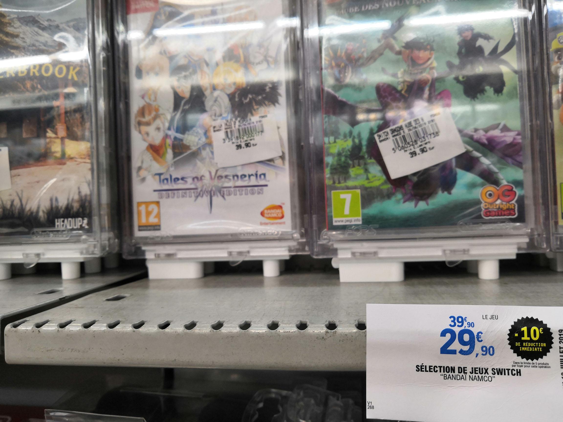 Jeu Tales of Vesperia sur Nintendo Switch - Leclerc de Bollène (84)