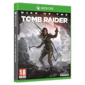 Jeu Rise of the Tomb Raider sur Xbox One - version Steelbook
