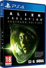 Jeu Alien isolation sur PS4 - édition nostromo