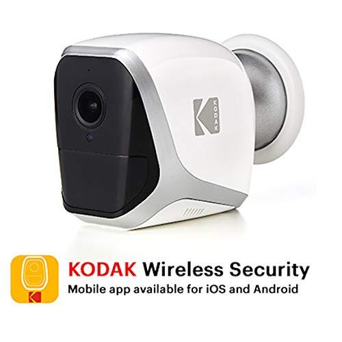 Caméra de surveillance Kodak W101 - 1080p, Wi-Fi, fonctionne sur piles (vendeur tiers)