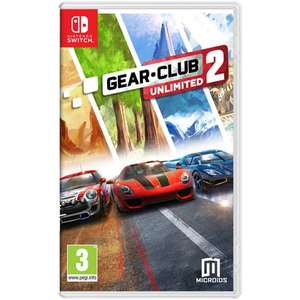 Gear.Club: Unlimited 2 sur Switch