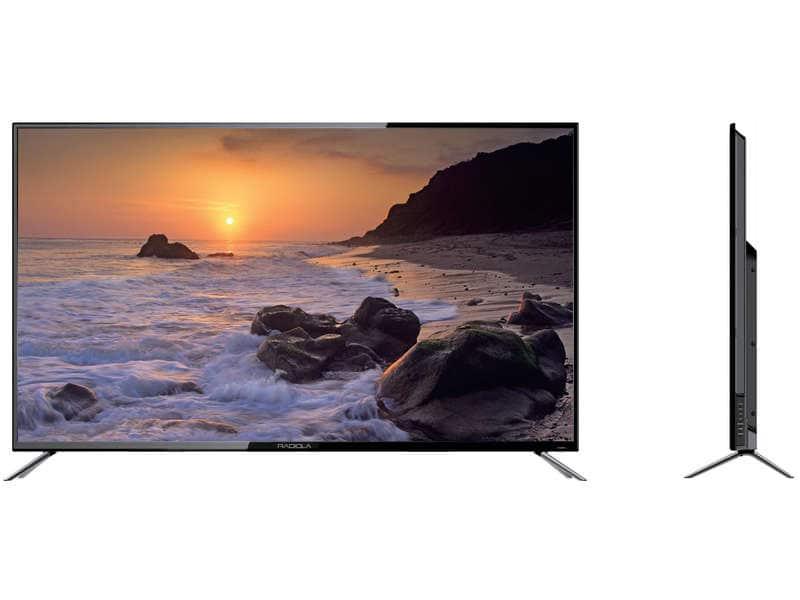 "TV 65"" Radiola LD65-RDM18K - LED, 4K UHD (+ 80€ en bon d'achat Meubles & Déco)"