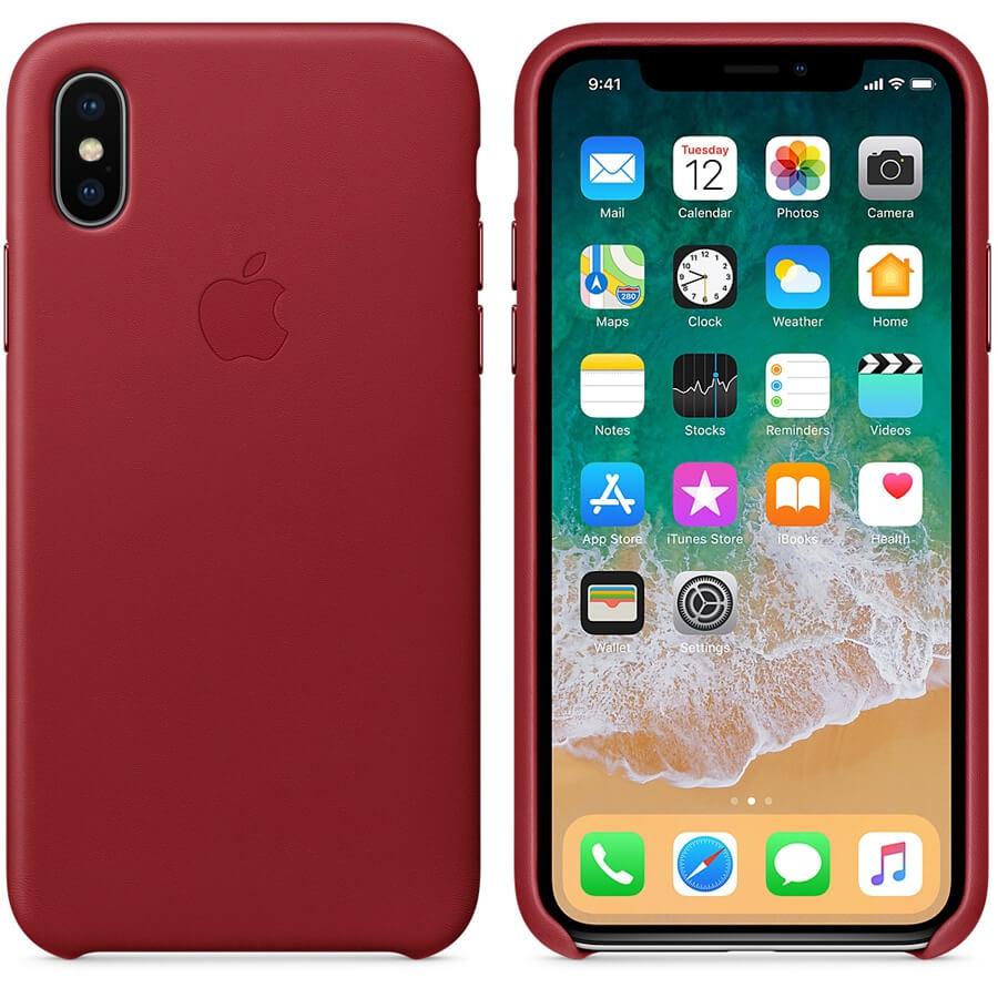 Sélection d'accessoires téléphone en promotion - Ex: Coque iPhone X en Cuir