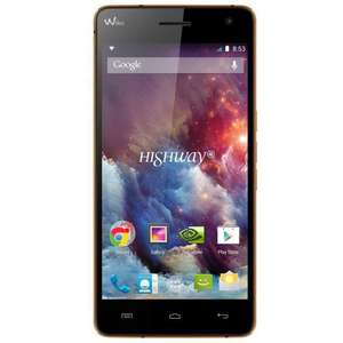 "Smartphone 5"" Wiko Highway 4G couleur Clementine (2 bons d'achats de 50€)"
