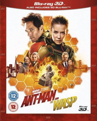 Blu-Ray 3D Antman et la Guêpe