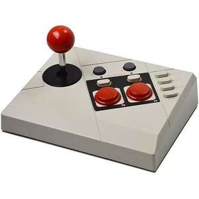 Joystick Edge + Livre de codes de triche pour Nintendo Classic Mini NES Steelplay