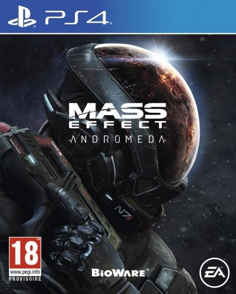 Jeu Mass Effect Andromeda sur PS4