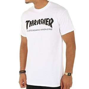 T-shirt homme Trasher - Blanc, Taille L ou XL