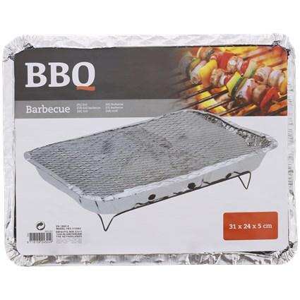 Barbecue et grill instantanés à charbon- 31 x 24 x 5 cm