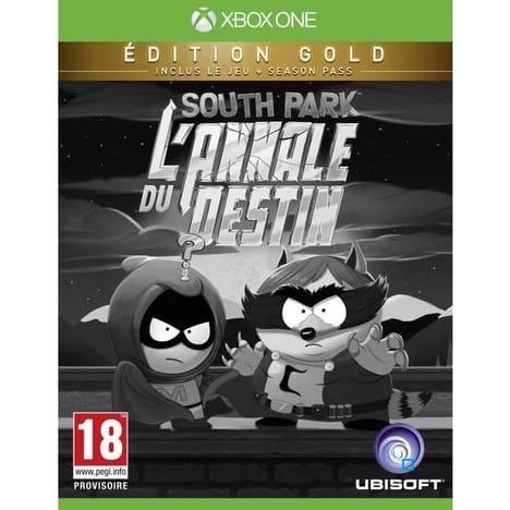 Jeu South Park : L'annale du destin (Edition Gold) sur Xbox One - Dans une sélection de magasins
