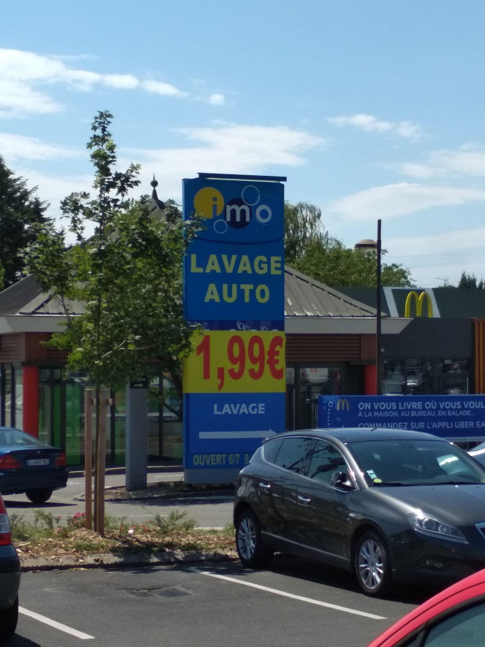 Nettoyage Autotomobile - à IMO Car Wash (Yvelines 78)