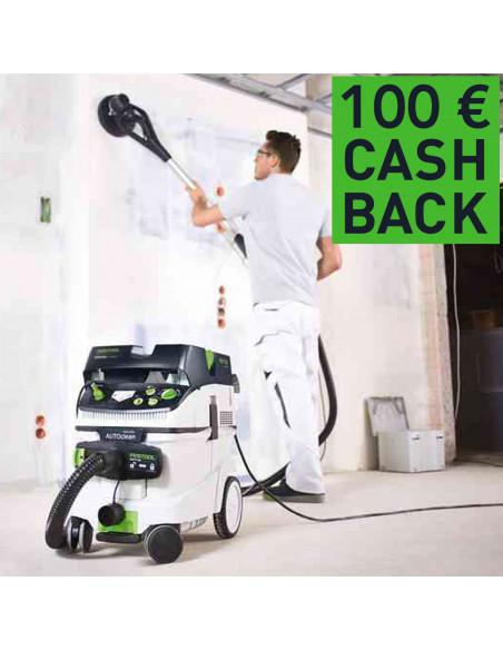 Pack Ponceuse Festool PLANEX EASY avec aspirateur LHS-E225/CTL36-SET (Via ODR 100€)