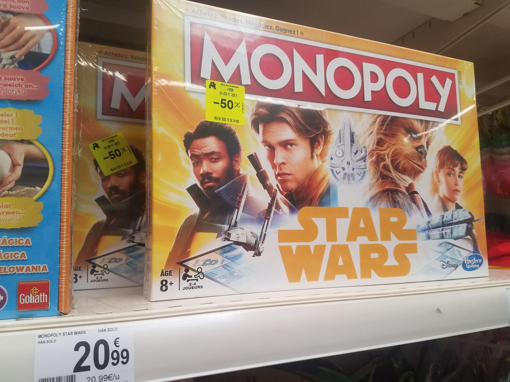 Sélection de produits en soldes - Ex : Jeu de société Monopoly Star Wars - Hirson (02)