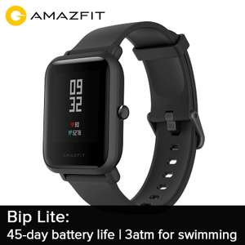 Montre connectée Amazfit Bip Lite - noire
