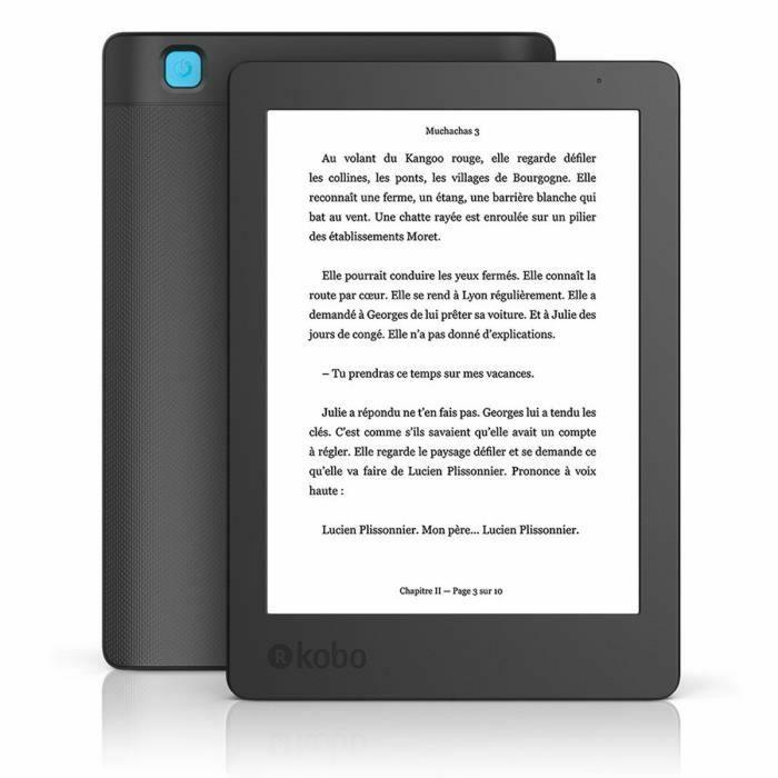 """Liseuse eBook 6"""" Kobo Aura 2nde Edition - 4 Go (Géant Casino Annecy Seynod 74)"""