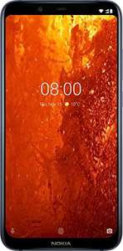"""Smartphone 6.18"""" Nokia 8.1 - FHD, SnapDragon 710, 64 Go ROM, 4 Go RAM, Bleu"""