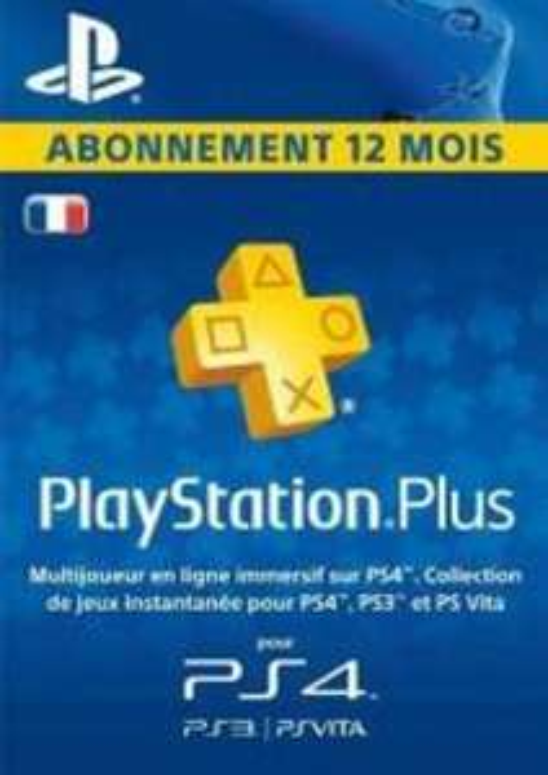 Abonnement 12 mois PlayStation Plus (Dématérialisé)