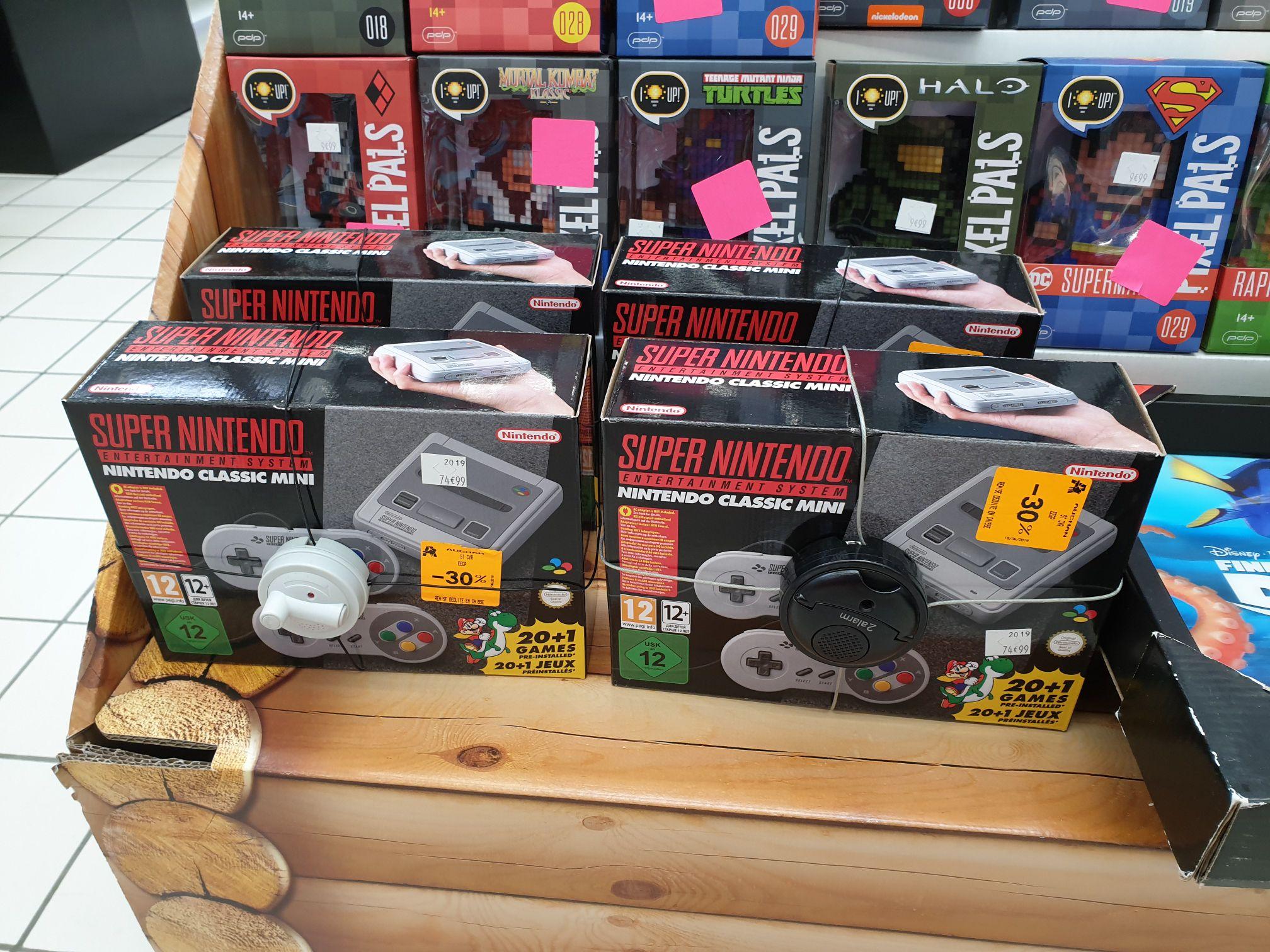 Console de jeu Super Nintendo Classic Mini - Auchan Saint-Cyr-sur-Loire (37)