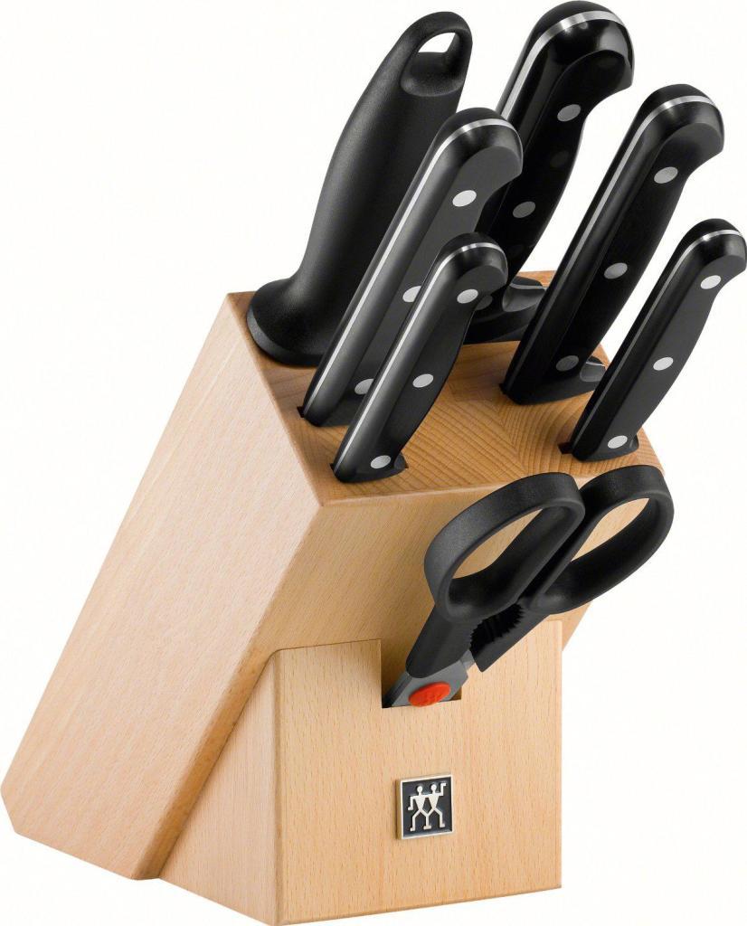 Set de couteaux Zwilling Twin Chef - 8 Pièces avec bloc