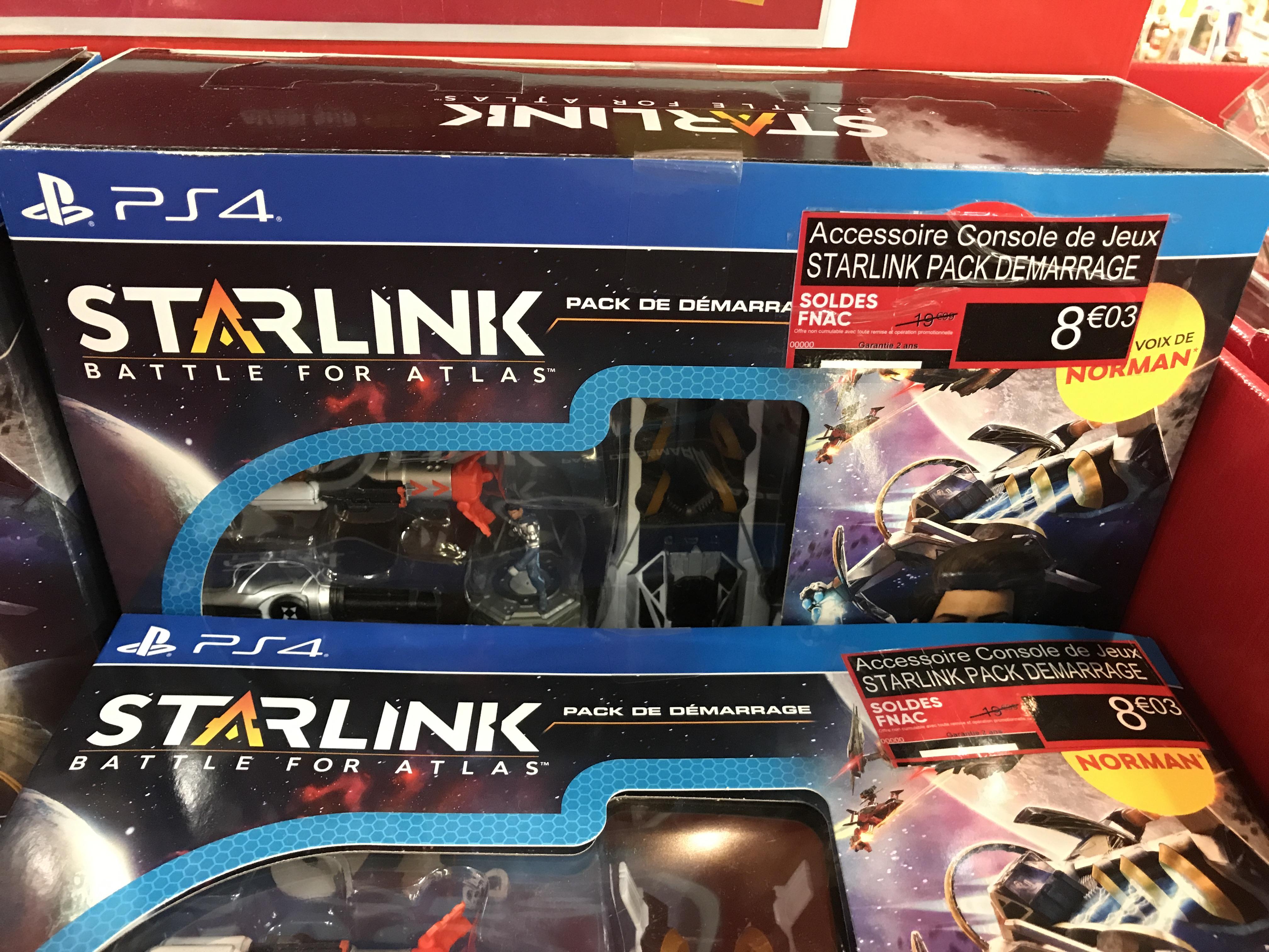 Pack de démarrage Starlink sur PS4 - Gennevilliers (92)