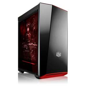 Tour PC Fixe Gaming - Ryzen 7 3700X, 16 Go DDR4, AMD RX 5700 8 Go, SSD 240 Go, HDD 1 To