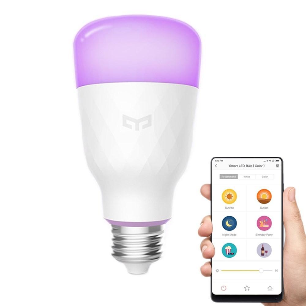 Ampoule connectée Xiaomi Yeelight YLDP06YL - RGBW, 10W, E27