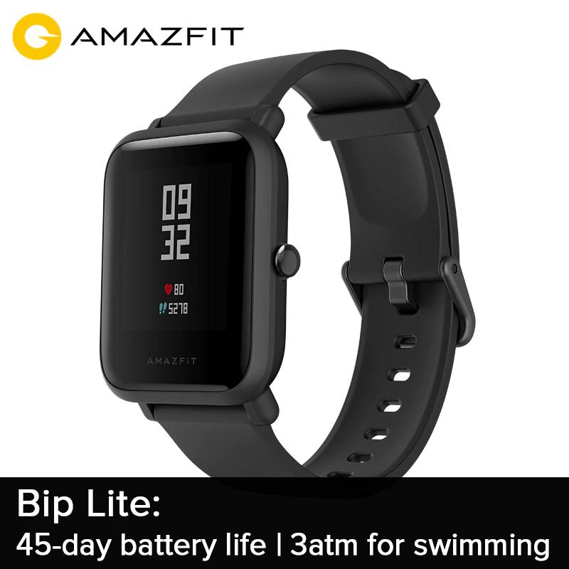 [Précommande] Montre connectée Amazfit Bip Lite - noire