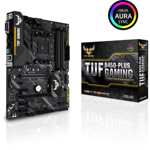 Carte mère Asus TUF B450 Plus Gaming (Avec MAJ Ryzen 3xxx)