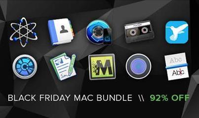 The Black Friday Mac Bundle : 10 Logiciels Mac (Drive Genius 4, AfterShot Pro 2...)
