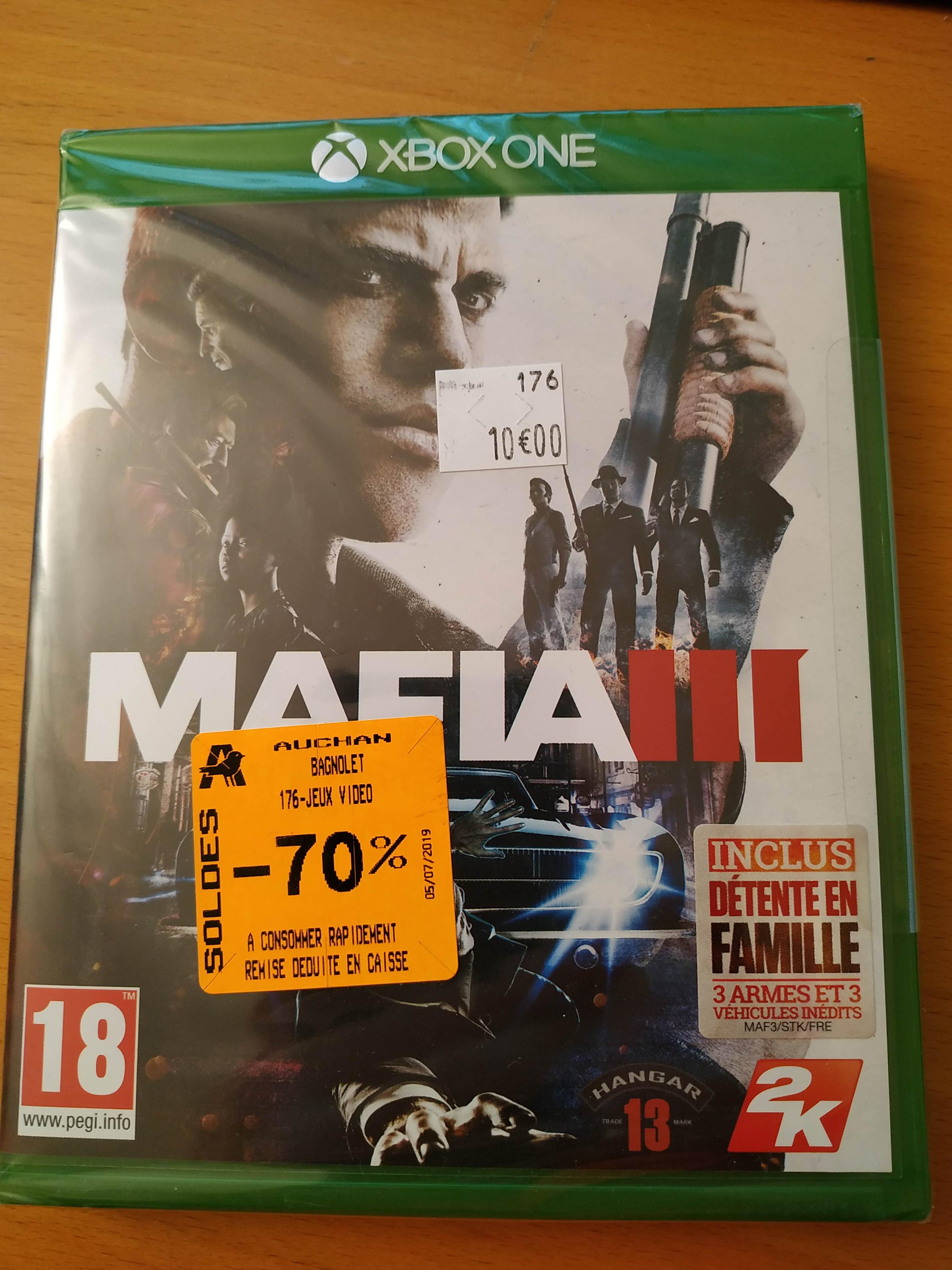 Sélection de Jeux en Soldes sur Xbox One - Ex: Mafia III - Bagnolet (93)