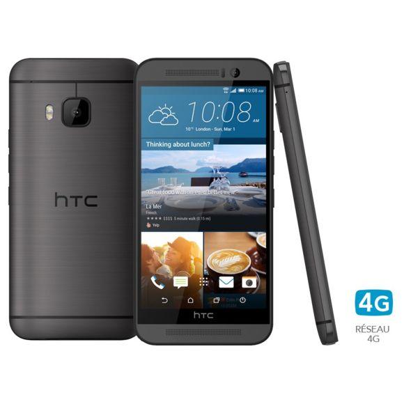 "Smartphone 5"" HTC One M9 Gris Acier - 32 Go"