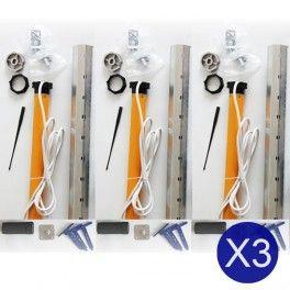 Lot De 3 Kits Complet Motorisation Volet Roulant 30nm