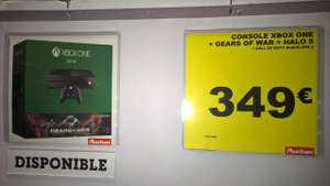 Pack Console Xbox One 500 Go + Gears of War Ultimate + Halo 5 + Call of Duty Black Ops 3