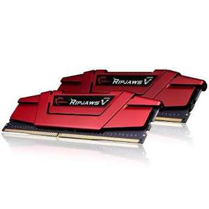 Mémoire Gskill Ripjaws V Red 2 x 8 Go DDR4 2133MHz CL15