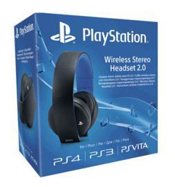 Micro-casque stéréo sans fil Sony pour PS4 / PS3 / PS Vita