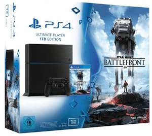 Pack console Sony Playstation PS4 1 To + Star Wars Battlefront
