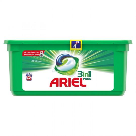 Lessive capsules Pods 3 en 1 Ariel Pods - 25 doses, 708g (via 7.67€ sur le compte fidélité) - Tours  (37)