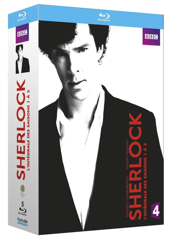 Coffret Blu-Ray Sherlock - Intégrale des 3 saisons
