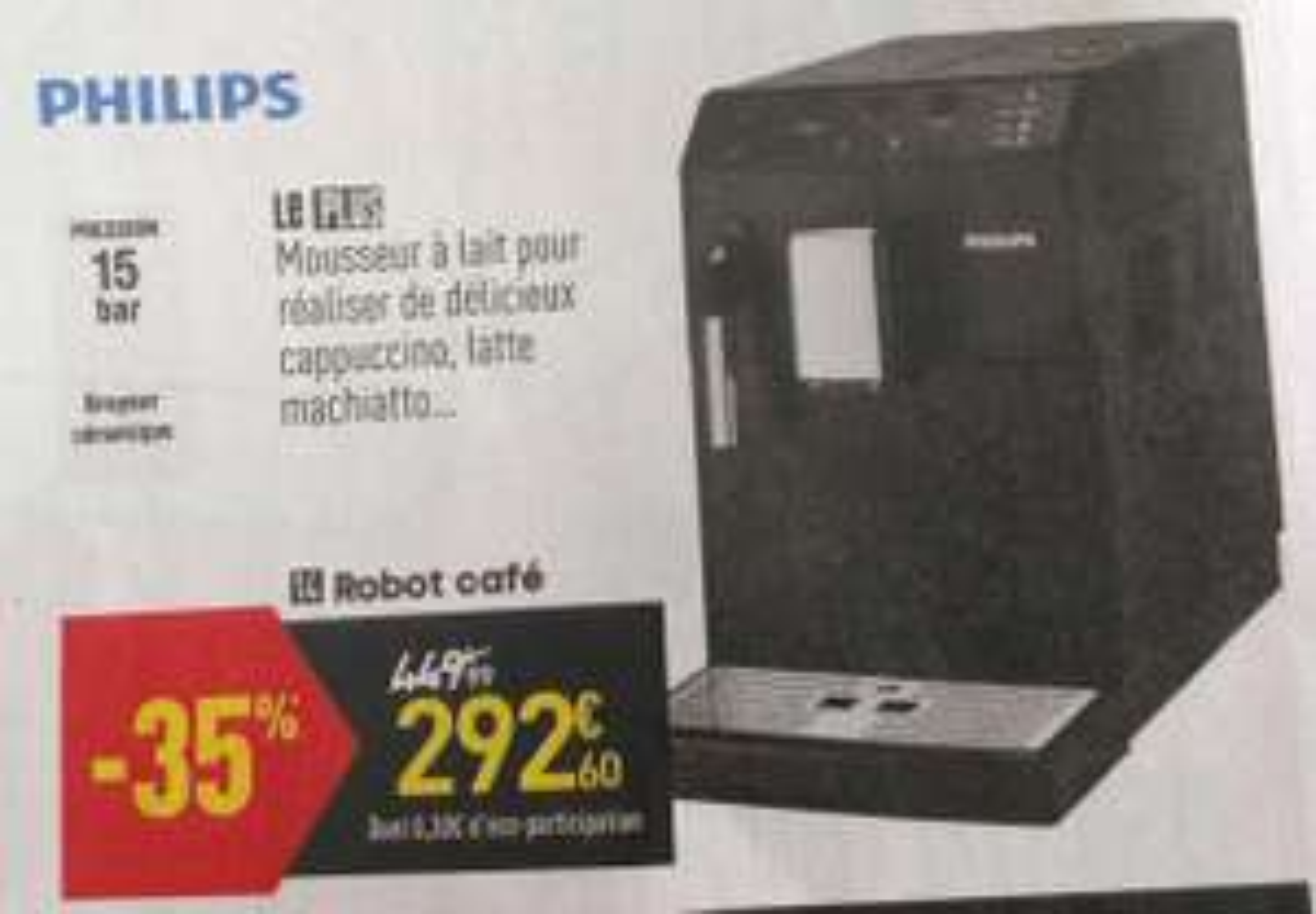 Machine à expresso automatique Philips HD8821/01