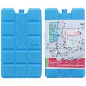 Lot de 2 Blocs réfrigérant - 400 ml