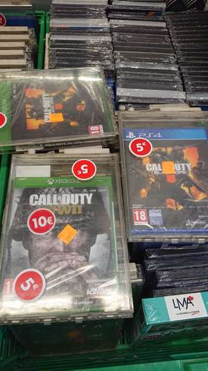 Call of Duty Black Ops 4 ou Call of Duty WWII - Créteil (94)