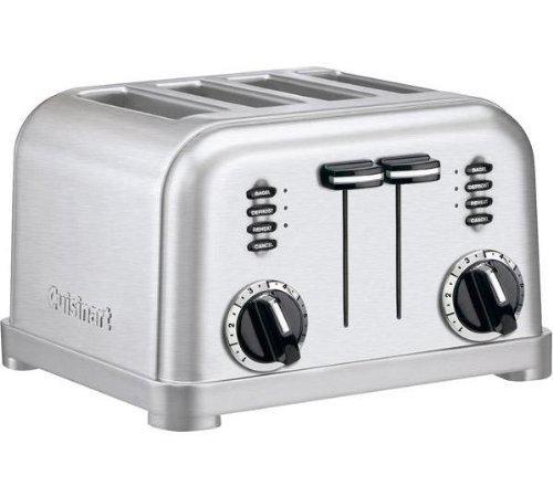 Toaster 4 fentes Cuisinart CPT180E 1800W - Acier brossé